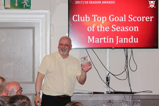 Club Top Scorer - Martin Jandu