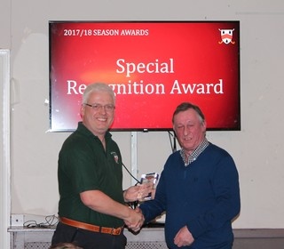 Special Recognition Award - Andy Hamilton