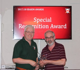 Special Recognition Award - Steve Saunders