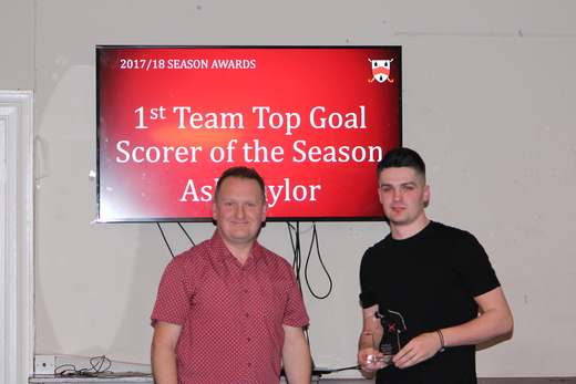1st Team Top Scorer - Ash Taylor