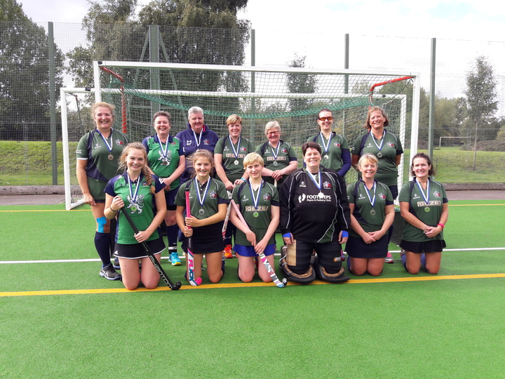 Ladies 3s county Tournament runners-up 2017