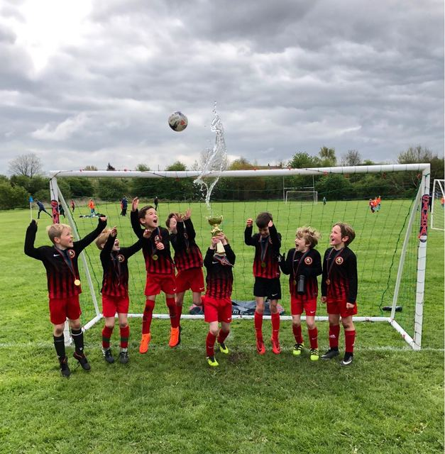 Under 8s Cup Winners 18