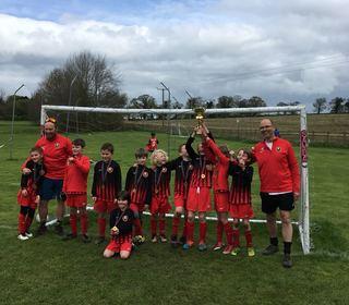 U8s Cup Winners 2018
