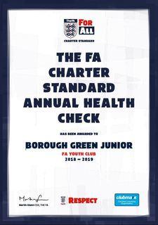 FA Charter Certificate 2018-19