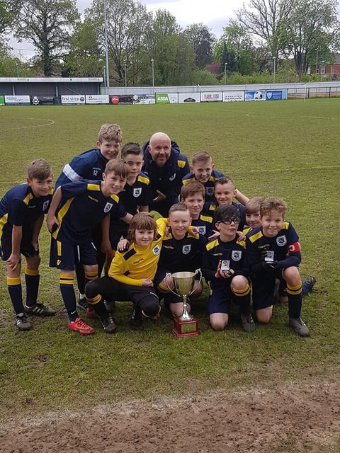 Tyro Cup winners 2018 at AFC Totton Stadium
