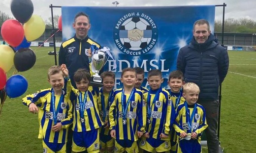 U7 Panthers win EDMSL cup