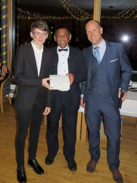 Men's Club Member of the Year 17/18 - Miles Jones