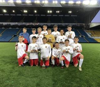 U13s Millennium Cup Winners 2018