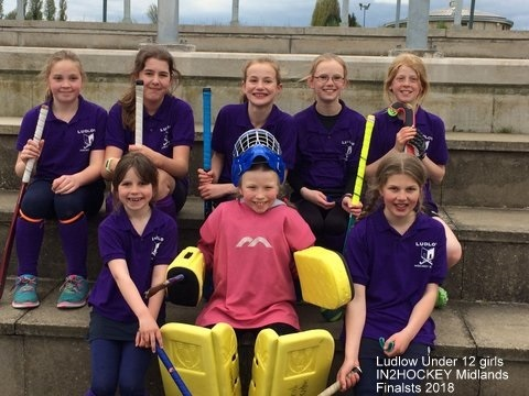U12 Girls in2 hockey