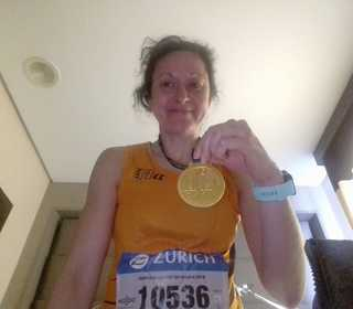 Cath at Seville Marathon
