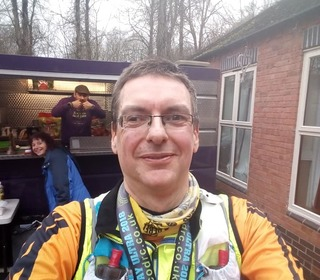 Chris at the Silkin Way Ultra