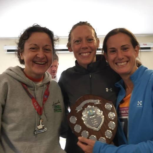 Goosefair Gallop winning ladies' team