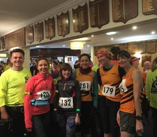 Tigers at the Night Trail 2017