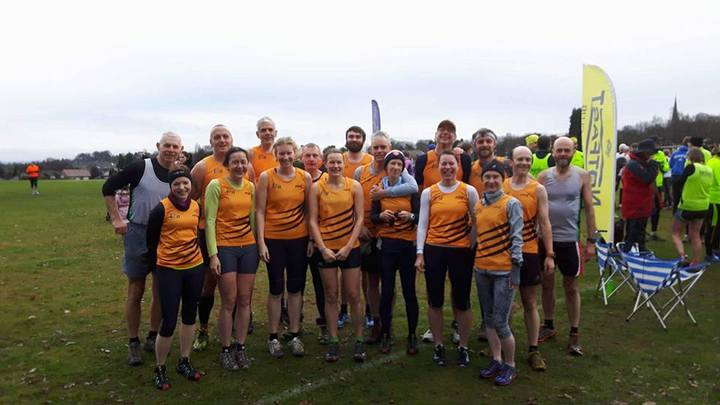 Tigers at Bramcote East Mids XC