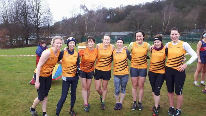 XC ladies' team at Bramcote