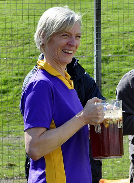 A whole jug for Helen!!