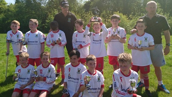 U10 Juniors Cup Winners