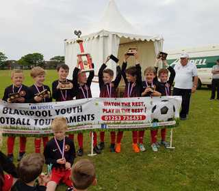 U8s Blackpool Tournament Winners 2018
