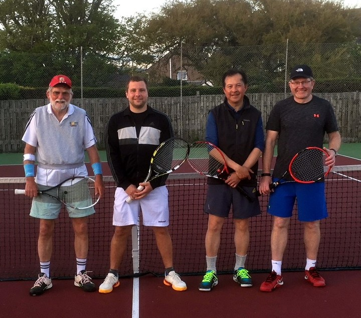 Men's Second Team at Seascale