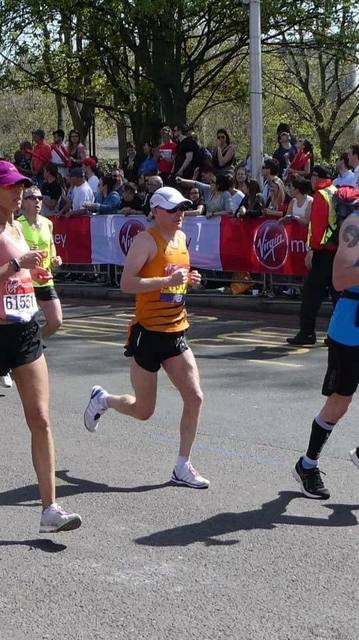 Nutty at the London Marathon