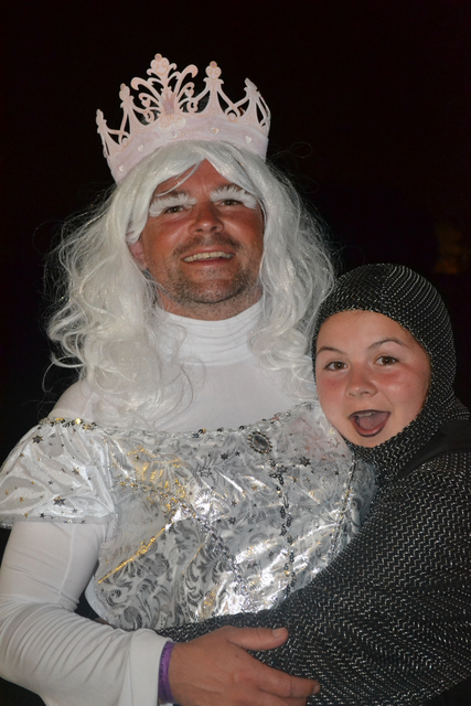 Black Knight takes White Queen