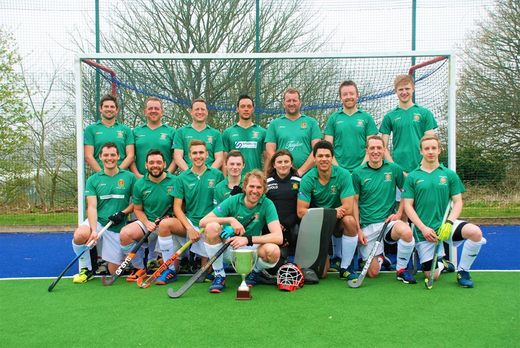 Truro 2 men's - 2018 Cup winners