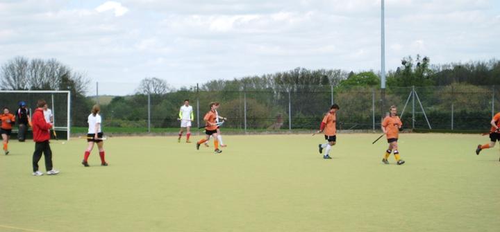 Bury St Edmunds disperse after scoring