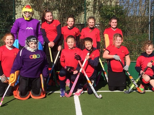 U12 girls Launceston - runners up