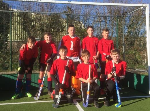 U14 boys Launceston - runners up