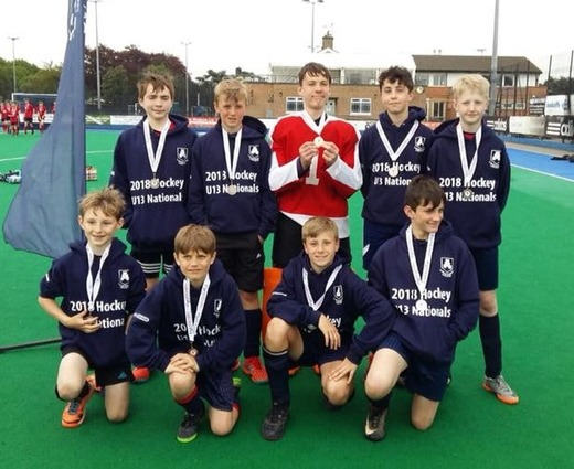 U13 boys Launceston College National runners up