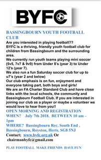 BYFC registration day