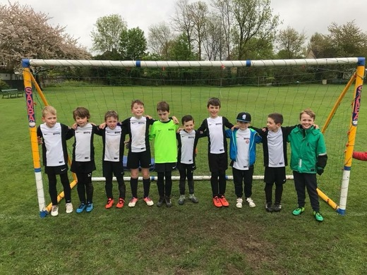 The full U8 squad!