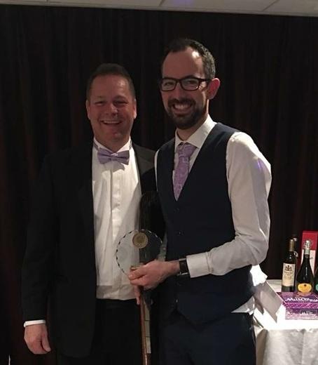 Stuart Kedge - Edna Fullerlove Fair Play award