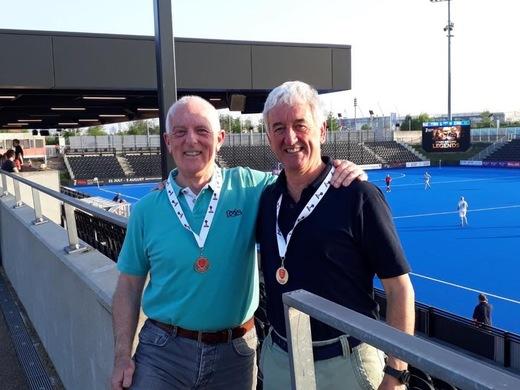 Sid Ellis & Paul Bickell Glos O60s