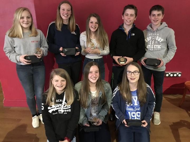 U14 Award Wiiners 2017/18