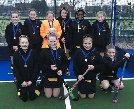 U12 Girls - County Silver Medalists