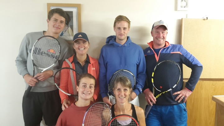 1st team at Keswick 17.7.18. Rob S, Clare, Dougal, Rob M, Megan and Julie