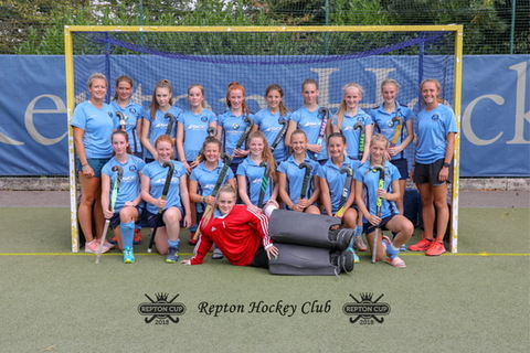 Repton Cup Girls Team
