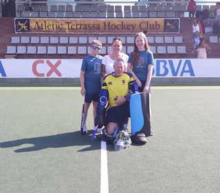 Gerry with his Family at Terrassa Stadium