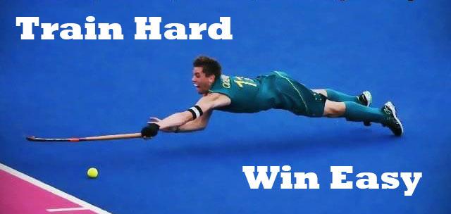 Train Hard, Win Easy