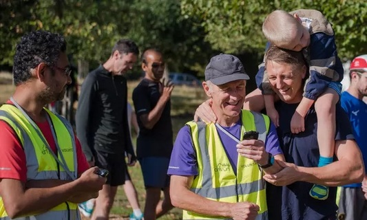 Phil Davies at Richmond parkrun