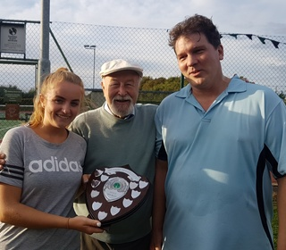 Leticia & Bill - Mixed Doubles Winners 2018