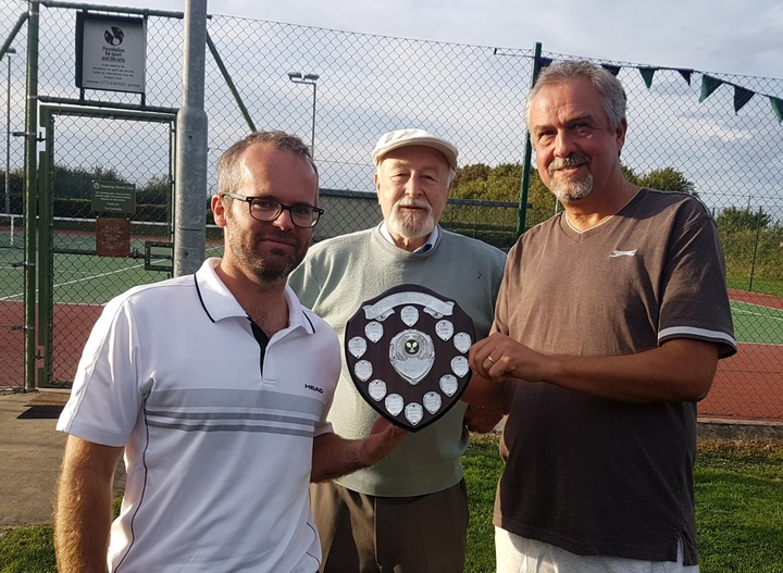 Will & Andy - Mens Doubles Winners 2018