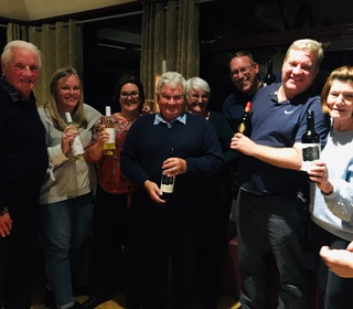 Quiz Night 26th Oct 2018 - Winners - Jon King and his brilliant team