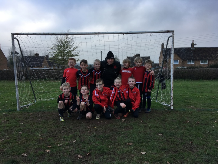 Under 7's pictures with Julie Bowker