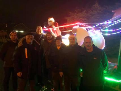 Radcliffe Rotary Santa Sleigh 18/12/18