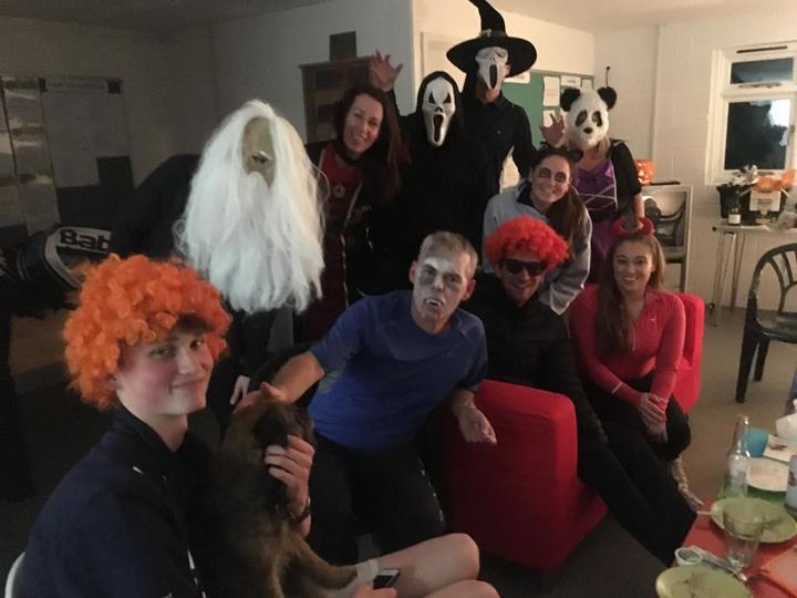 Halloween Dress up at Tennis Social