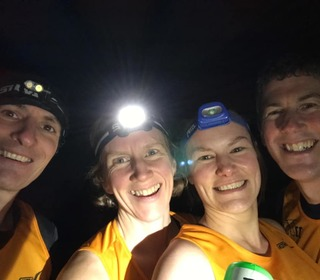 Caulke Abbey night run
