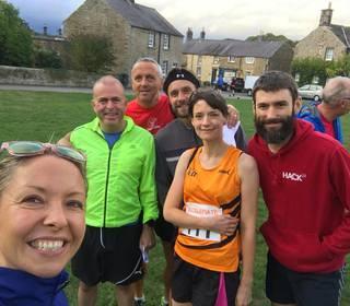 Pilsley Fell Race