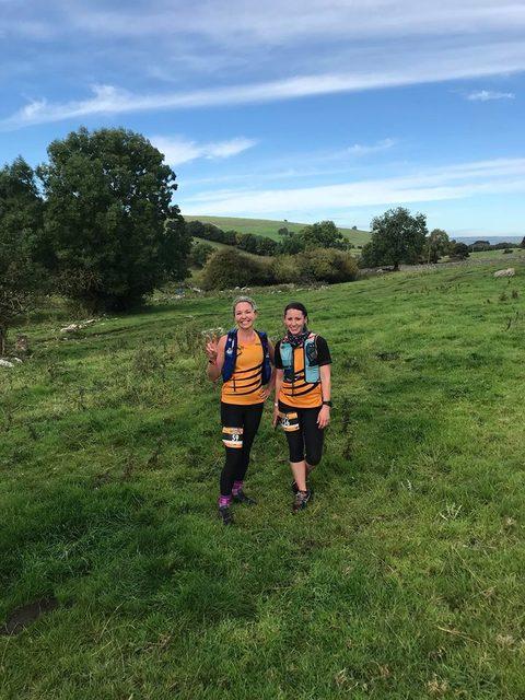 Helen and Vicki and the Biggin Trail Run
